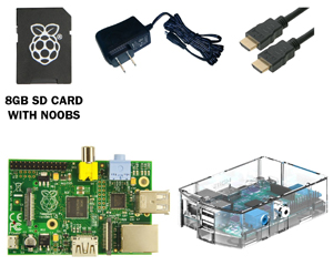The Raspberry Pi Complete Starter Kit.