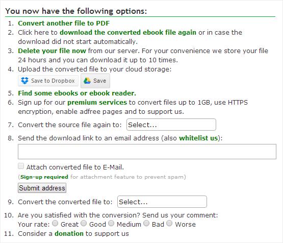 Online-convert file process complete.