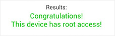 Successfully rooted in Root Checker.