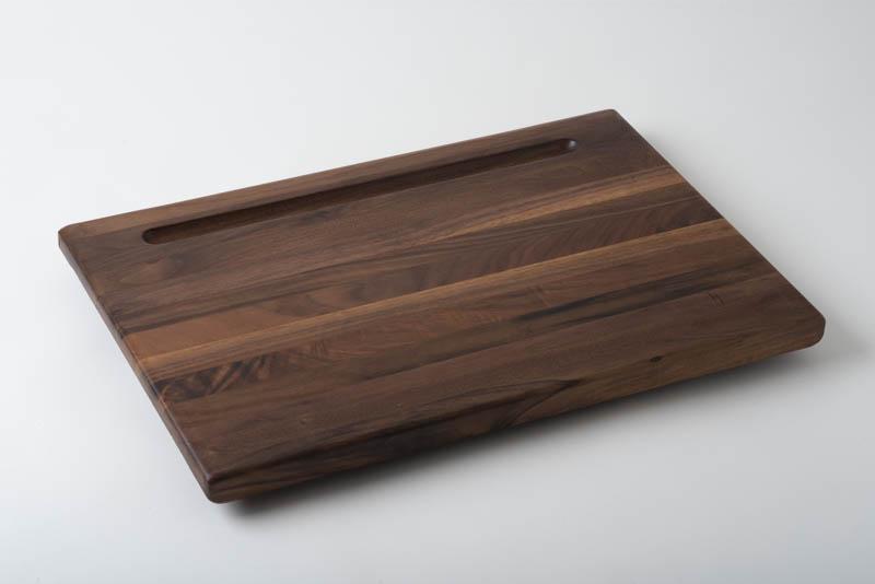 Charcuterie board, in walnut