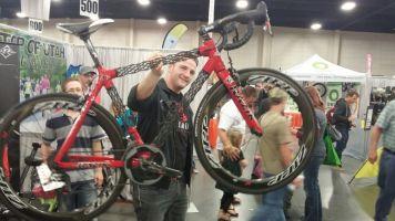 Crazy light weight bike