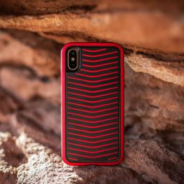 iPhone X/iPhone XS Grip Phone Case (Red)
