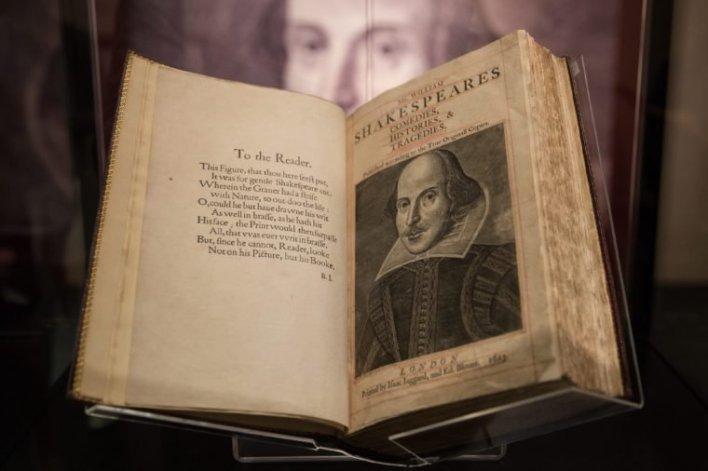 shakespeare's first folio willaim shakespeare