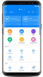rs file manager android dosya yöneticisi