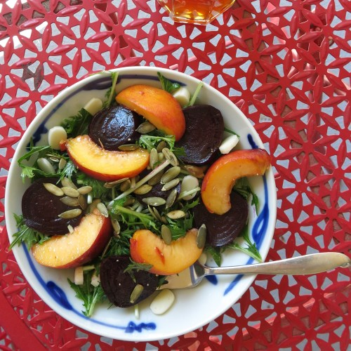 Modified version of the late summer salad