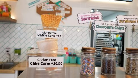 Gluten-free cones