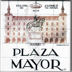 Azulejo Plaza Mayor