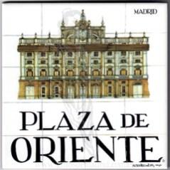 Azulejo Plaza de Oriente