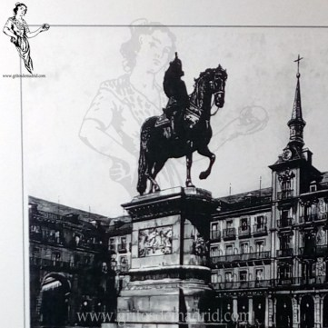 Monumento Felipe III Plaza Mayor