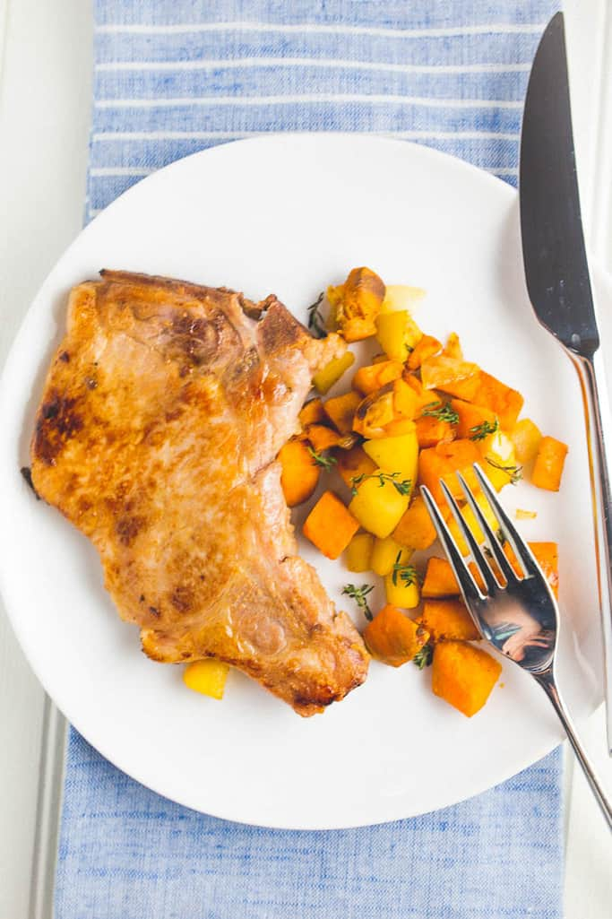 whole30-pork-chops-sweet-potato-hash