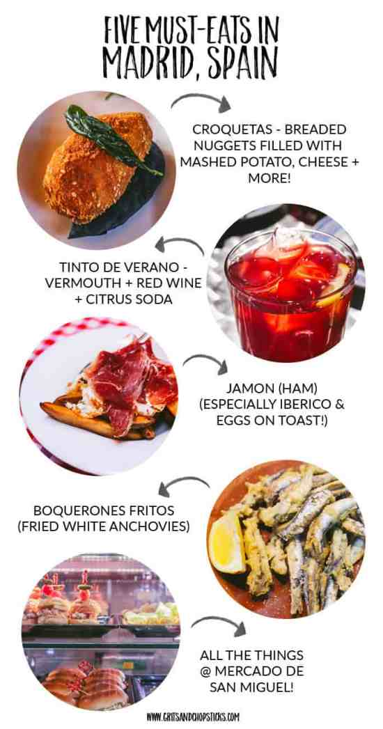 must eat foods in madrid