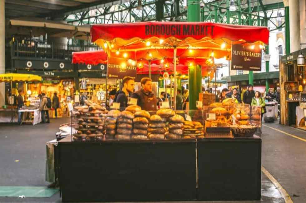 borough market's top five eats