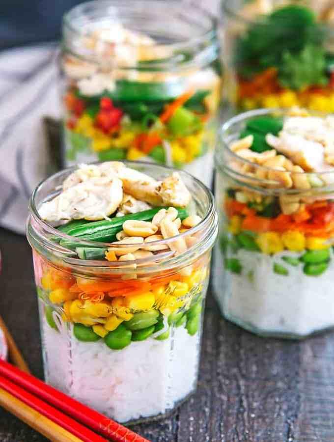 vietnamese rainbow noodle jars
