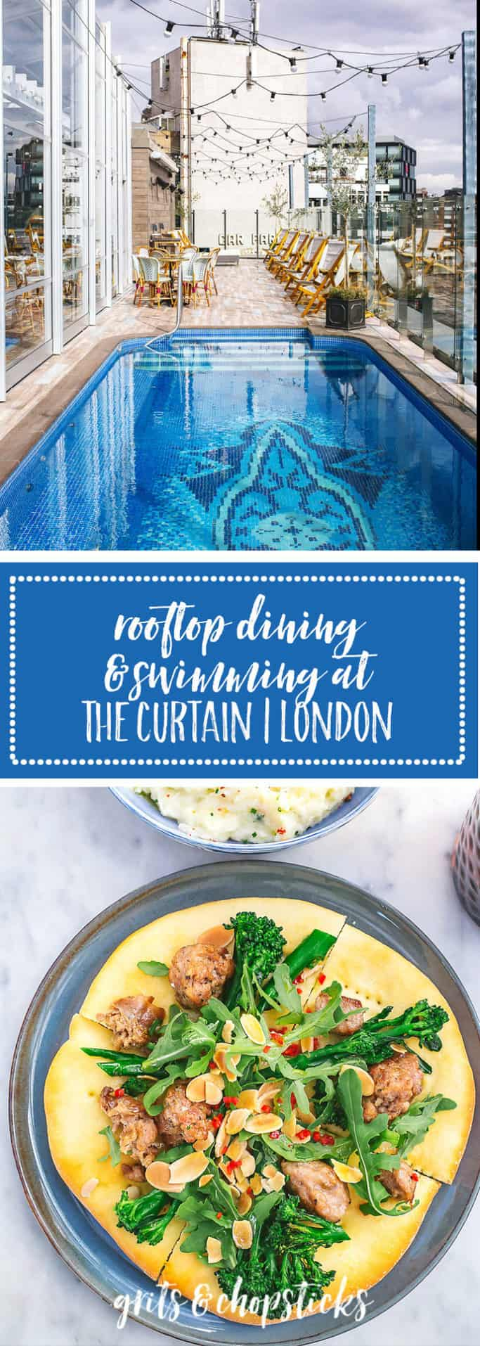 Visit The Curtain in Shoreditch, London, a new boutique hotel with a guests and members only swimming pool and Marcus Samuelsson restaurants!