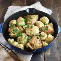 Healthy Chicken Cauliflower Skillet