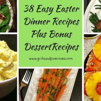 Easy Easter Dinner Menu Ideas and Recipes