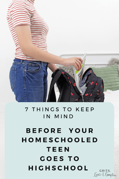 7 things to keep in mind before your homeschooled teen goes to high school