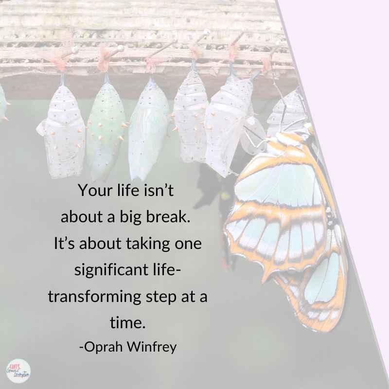 Are you a midlife mom focused on self-discovery in 2020? 21+ quotes on finding yourself to inspire and motivate you on your journey.