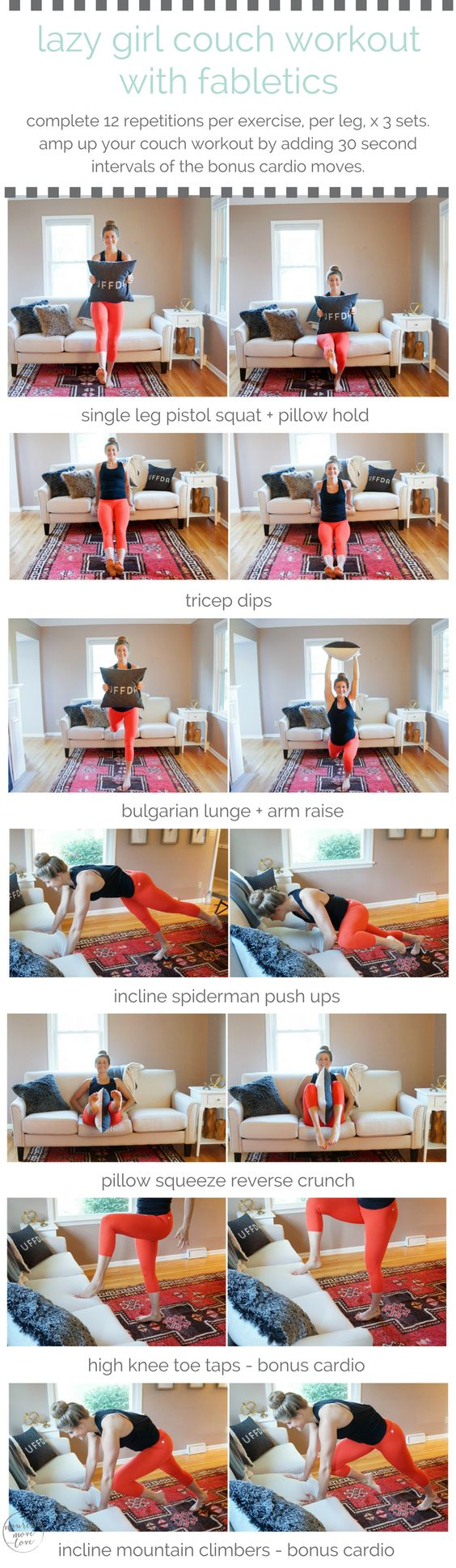 10 Workouts For When You Are Feeling Lazy