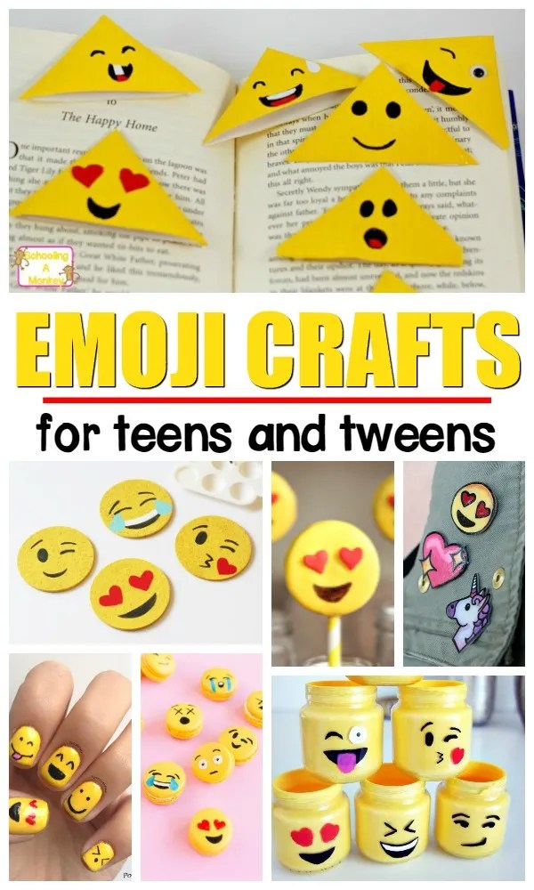 Easy craft activities for tweens and teens | summer crafts for girls