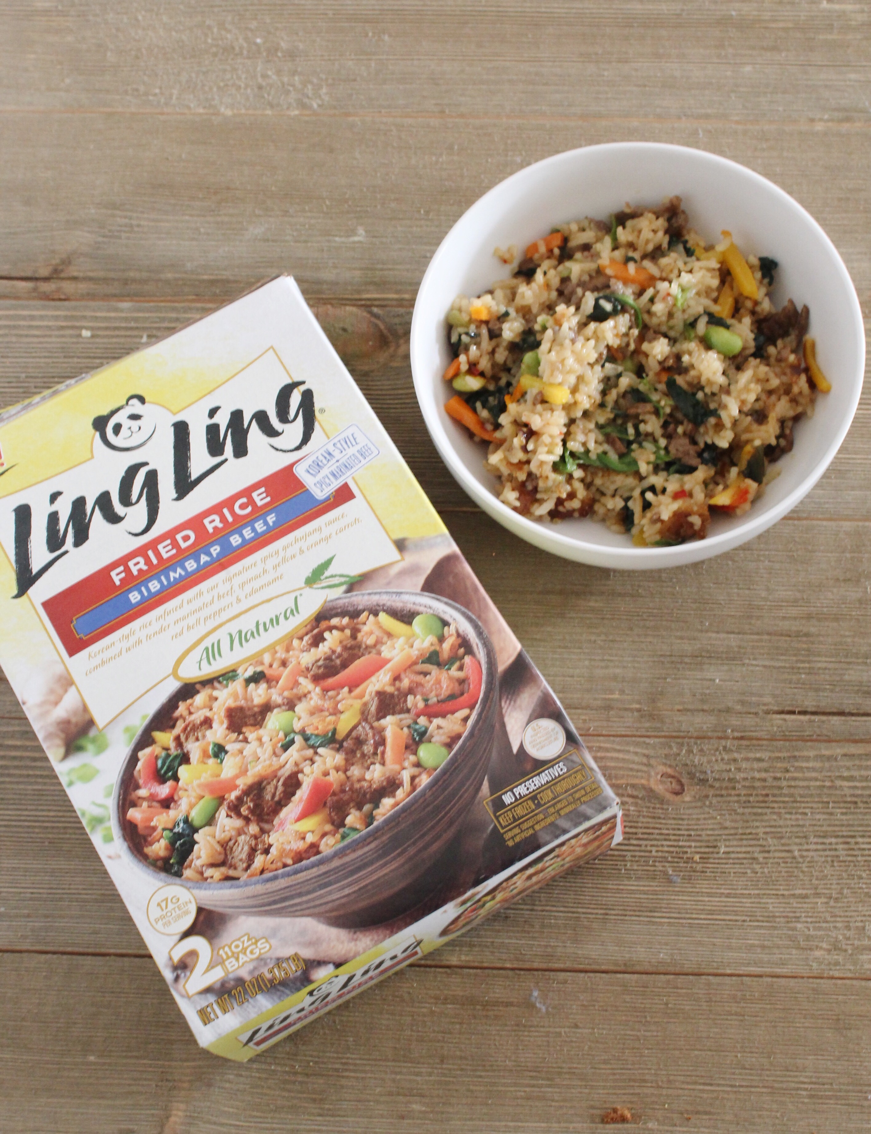 Fun ways to celebrate Chinese New Year. Ling Ling Asian Foods, how to make Bibimbap Beef Fried Rice