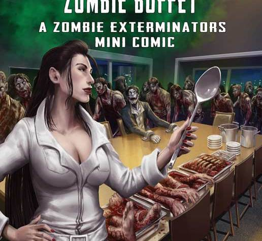 The Zee Brothers: Zombie Buffet Comic Book Now Available!