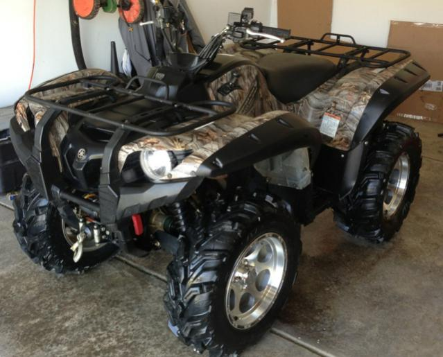 Grizzly 700 Fi Camo Excellent Condition