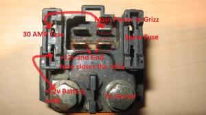 Starter Relay (Solenoid) 101  Yamaha Grizzly ATV Forum