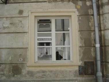 Kameni okviri prozora - Varaždin (2)