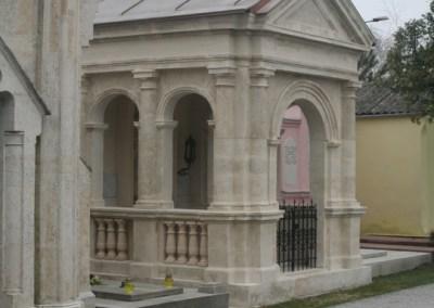 Kapelica Zajec – restauracija