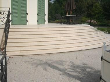 Kurija - uređenje stepenica (2)