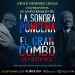 SONORA PONCEÑA FESTEJARÁ SU 65 ANIVERSARIO EN MEXICO JUNTO AL GRAN COMBO DE PUERTO RICO