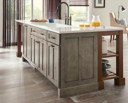 yorktowne custom island cabinets From GR Mitchell