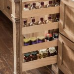 yorktowne pull out spice rack