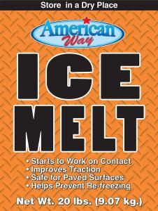 American Way Ice Melt - 20 lbs