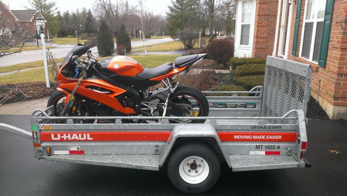 U Haul Motorcycle Trailer Rental