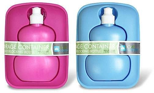 Home Collections Storage Container With Interlocking Sipper Bottle Just $4.24 Down From $19.99 At GearXS! Ships FREE!
