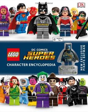 LEGO DC Comics Super Heroes Character Encyclopedia Just $8.25 (Was $19)!
