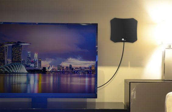 Super Thin Indoor HDTV Antenna Just $7.99 Was ($18)!