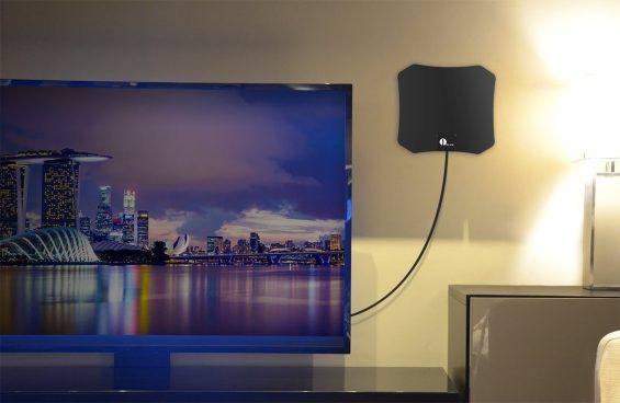 Super Thin Indoor HDTV Antenna Just $7.99 Was ($18)!