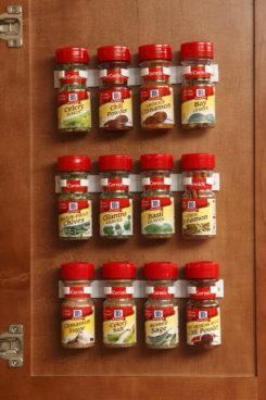 Spice Gripper Clip Strips - Set of 3, Holds 12 Jars Just $7.95 Was $16!