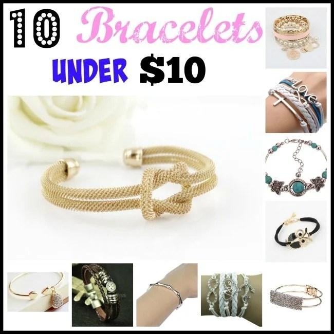 10 Bracelets Under $5