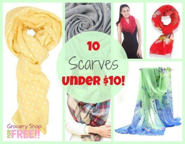 10 Scarves Under $10!