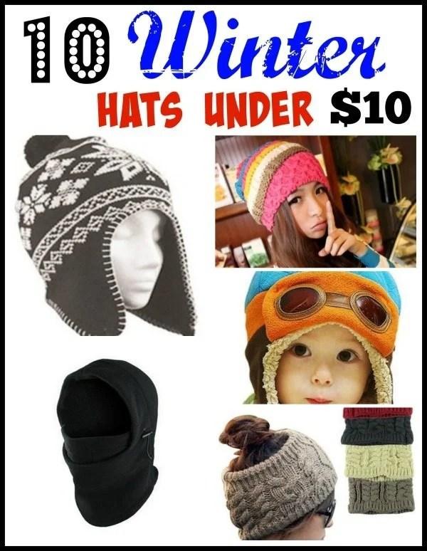 10 Winter Hats Under $10