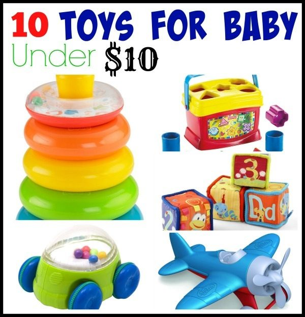 10 toys for baby under $10