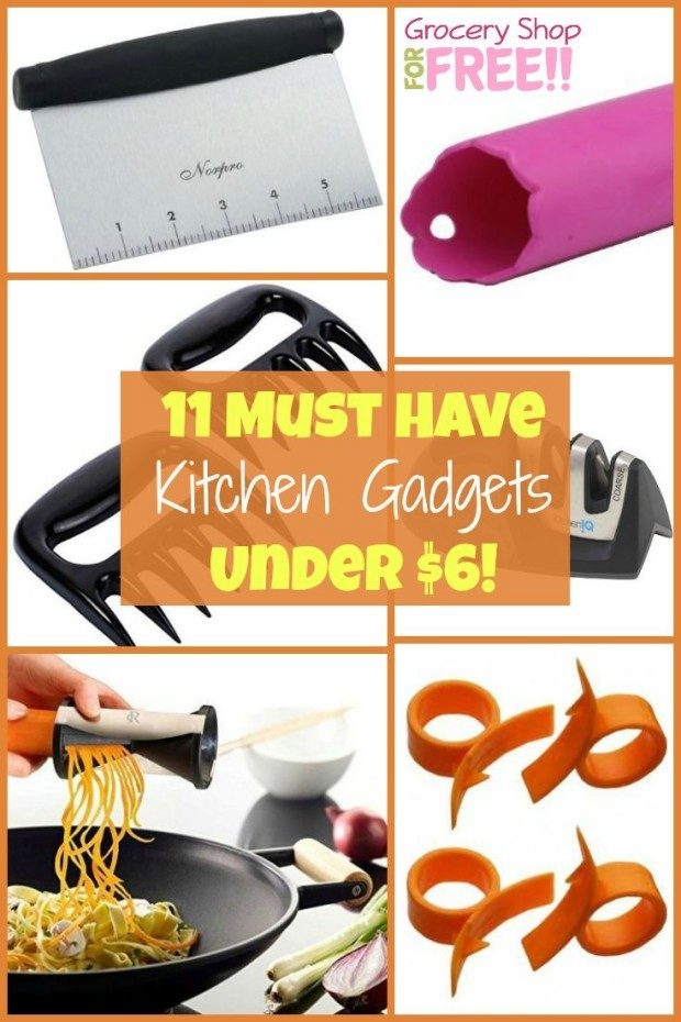 11 Kitchen Gadgets For Under $6!