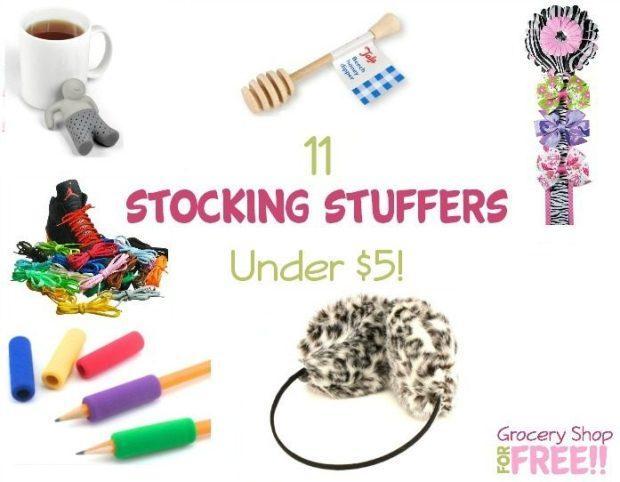 11 Stocking Stuffers Under $5!