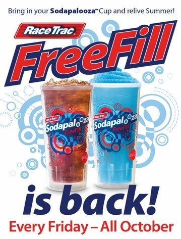 FREEFill Fridays At RaceTrac!