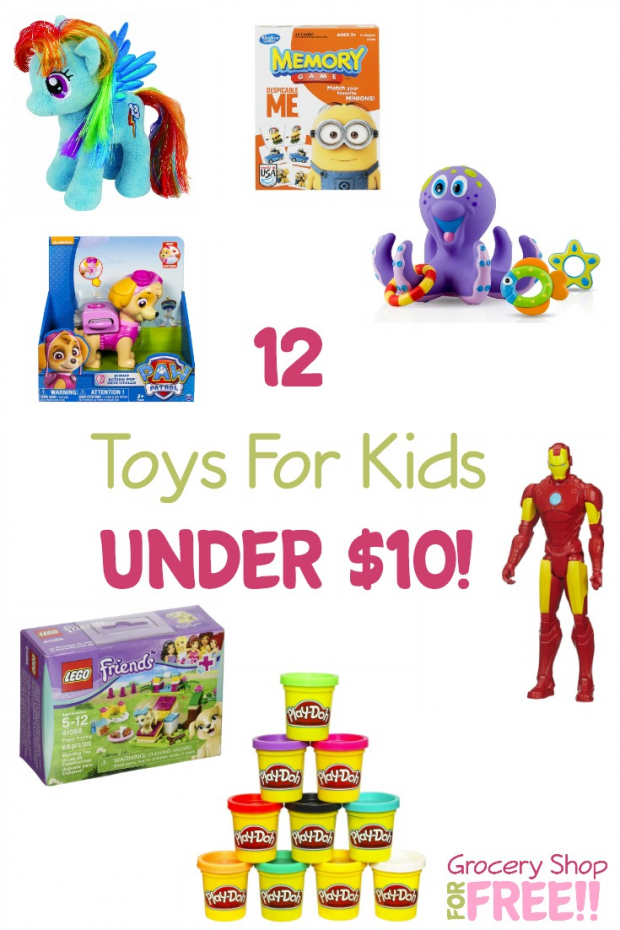 12 Toys For Kids Under $10!