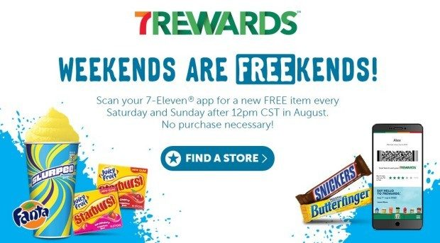 FREEbies From 7-Eleven All Month!